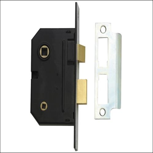 Yale Pm236 2 Lever Sashlock Polished Brass