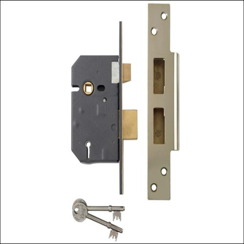 Yale Pm560 5 Lever Sashlock Polish Brass 2.5