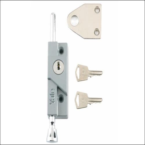 Yale 8k116 Door Bolt White Finish Visi