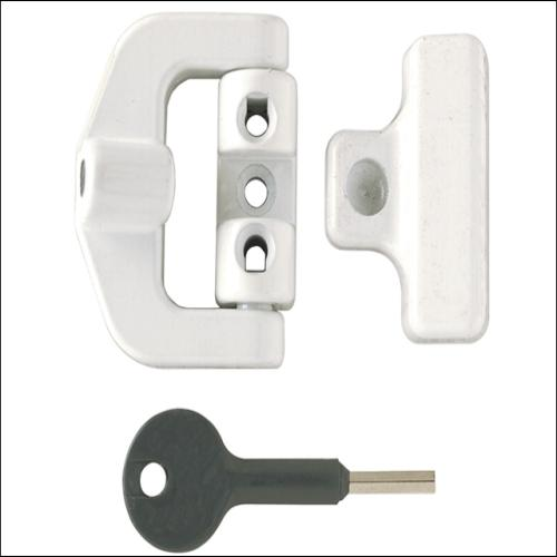 Yale 8k123 Pvcu Window Lock White Finish