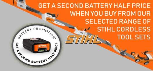 Second Stihl Battery at Half Price
